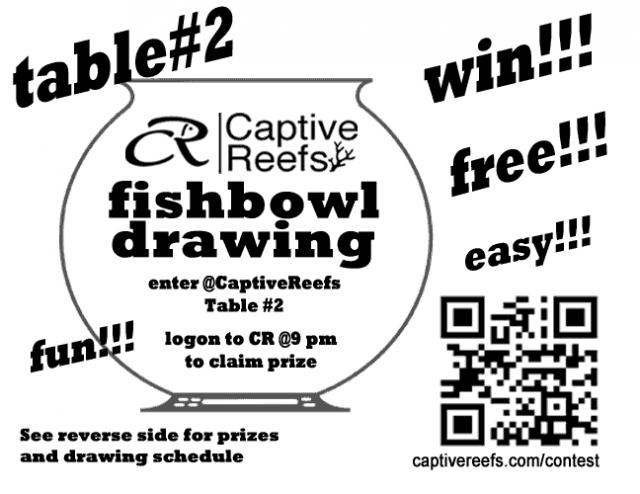 Coral Reef Aquarium - CR Contests - CR Fishbowl @MCES 2012  The BIGGEST Yet