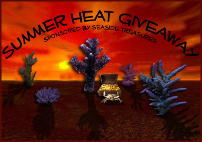 Coral Reef Aquarium - CR Contests - Summer Heat Giveaway - sponsored by Seaside Treasures
