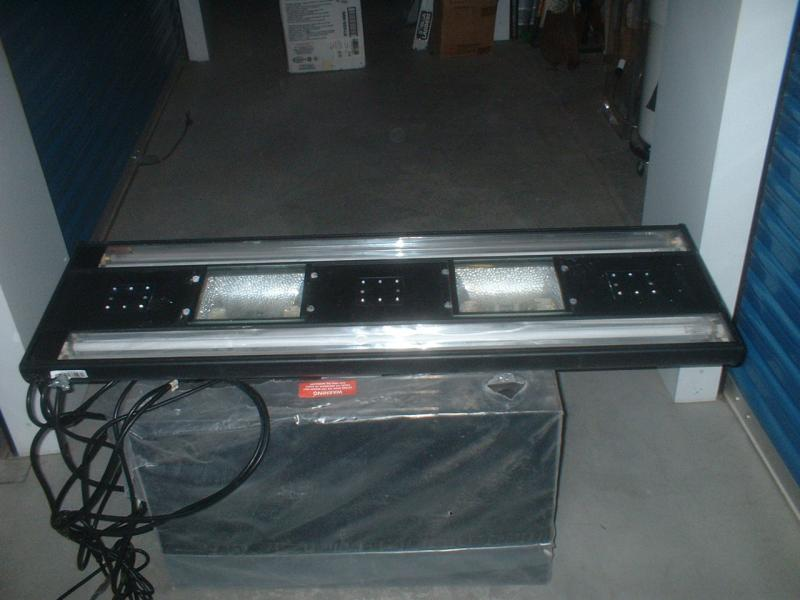 "Coral Reef Aquarium - Equipment Sales & Trades - 48"" Outer Orbit T5/MH for sale"