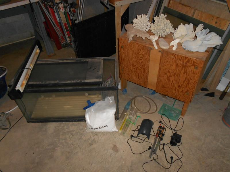 Coral Reef Aquarium - Equipment Sales & Trades - 50 gal, 29 gal, and accessories