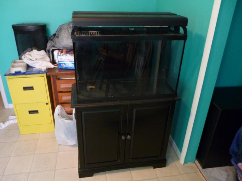 Coral Reef Aquarium - Equipment Sales & Trades - Cleaning our fishroom- Fulls set up, brand new tank and used stuff