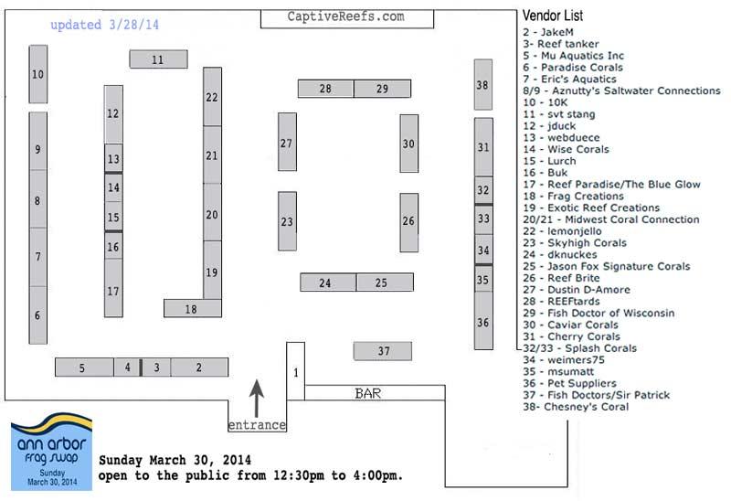 ann arbor 2014 layout?03092014 - Ann Arbor Swap - Sunday March 30 - Save the date!