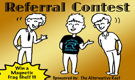 referral contest2 lg - Referral Contest #3!!! sponsored by The Alternative Reef